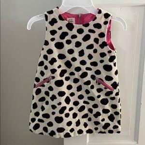 Mini Boden black and white dress